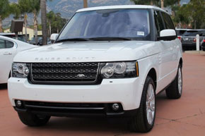 ������ ���������� � ������ RANGE ROVER VOGUE